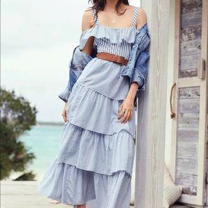 Victorias Secret Dream Angels Ruffle Dress Stripe